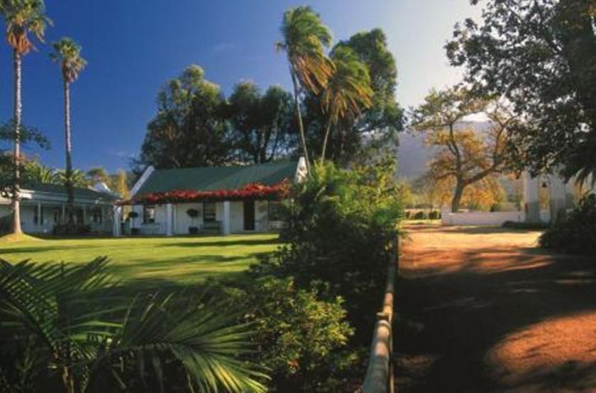Constantia Uitsig Hotel, Constancia, Afrique du Sud, jardins