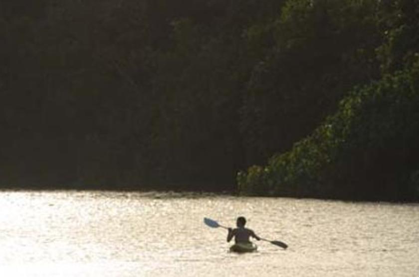 Ras Kutani Lodge, Tanzanie, kayak