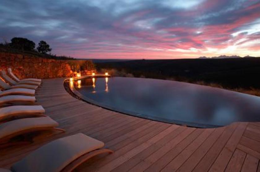 Gondwana Game Reserve, Afrique du Sud, piscine