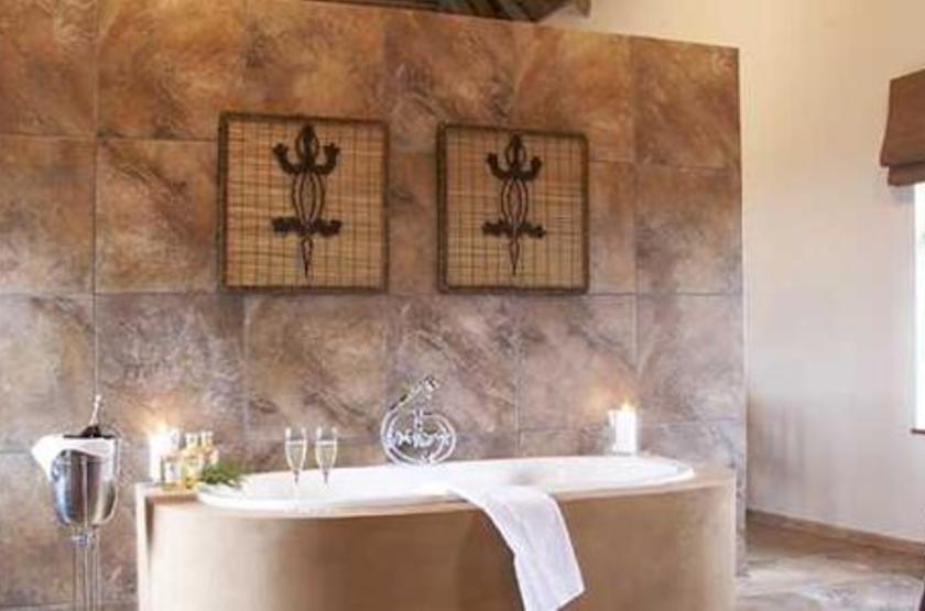 Gondwana Game Reserve, Afrique du Sud, salle de bains