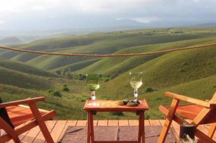 Gondwana Game Reserve, Afrique du Sud, terrasse