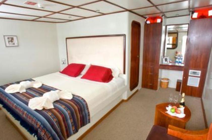 Catamaran Athala II, Galapagos, Equateur, cabine