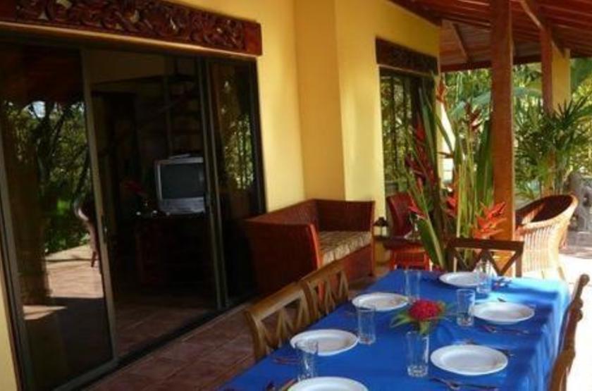 Hôtel Cuna Del Angel, Dominical, Costa Rica, restaurant