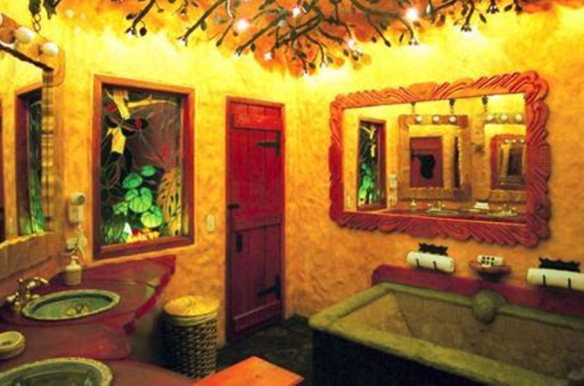 Peace Lodge, La Paz Waterfall Gardens, Costa Rica, salle de bains