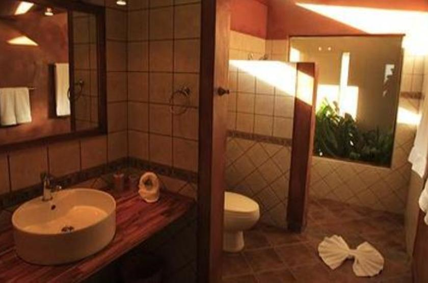 Tenorio Lodge, Volcan Tenorio, Bijagua, Costa Rica, salle de bains