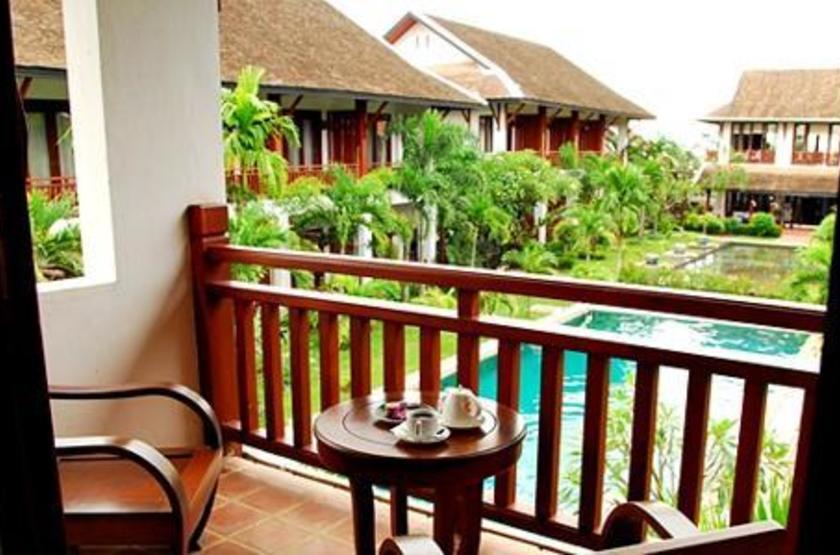 Green Park Hotel, Vientiane, terrasse
