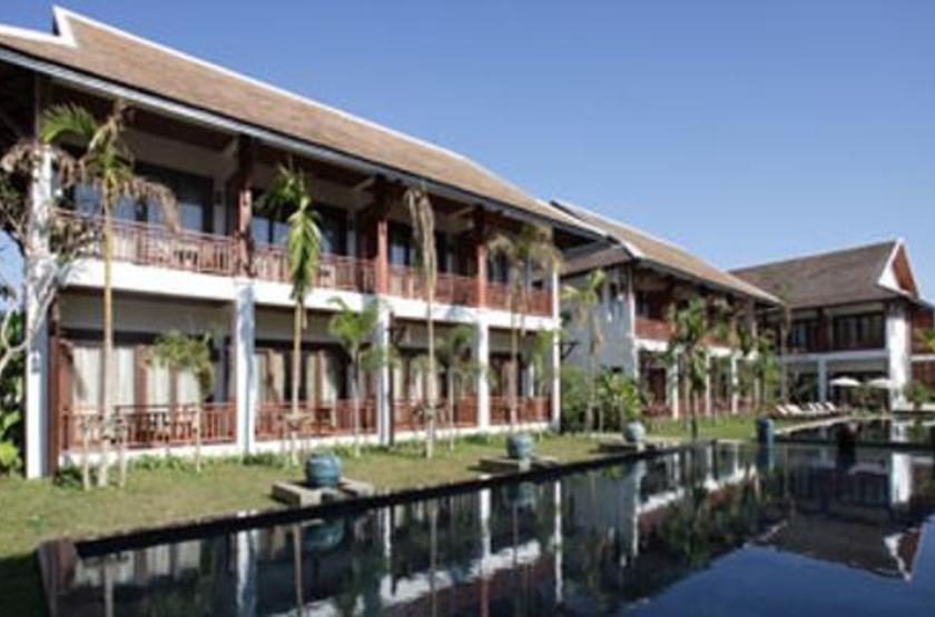 Green Park Hotel, Vientiane, Laos, extérieur
