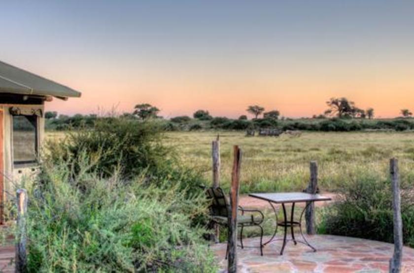 Kalahari Red Dunes, près de Mariental, Namibie, terrasse