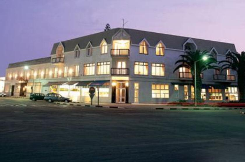 Hansa Hotel Swakopmund, Namibie, extérieur