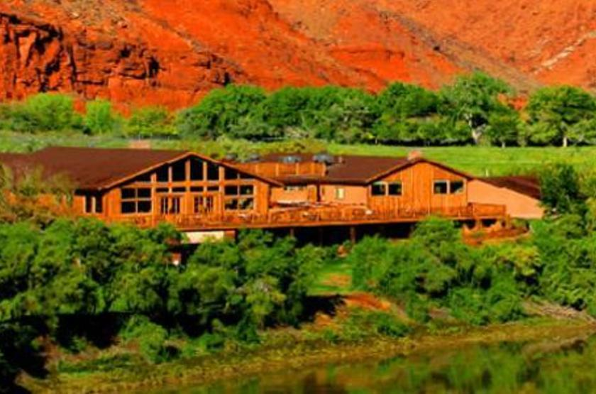Red Cliff Adventure Lodge, Moab, Etats Unis, extérieur