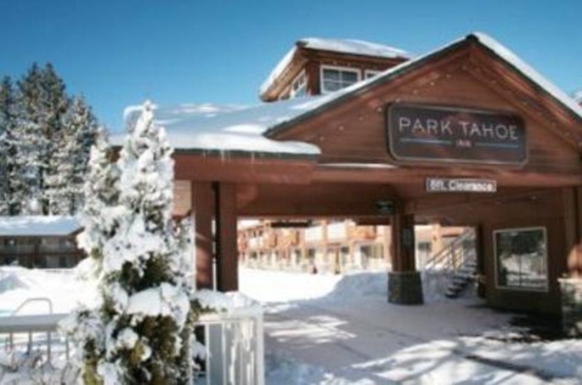 Park Tahoe Inn, South Lac Tahoe, Etats Unis, extérieur hiver