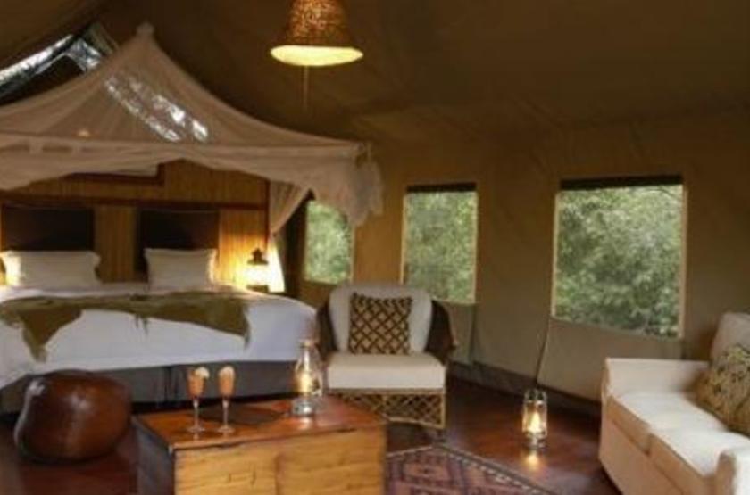 Thakadu River Camp, Réserve de Madikwe, Afrique du Sud, intérieur