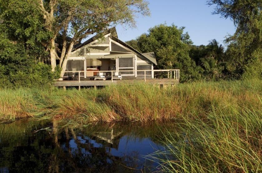 Abu Camp, Delta de l'Okavango, Botswana