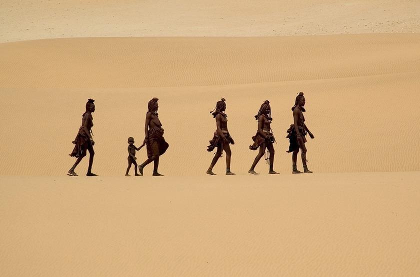 Namibie   serra cafema   himba   desert slideshow