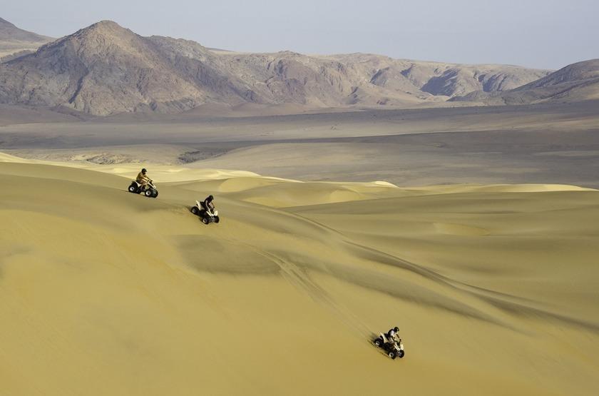 Namibie   serra cafema   quad   dune slideshow