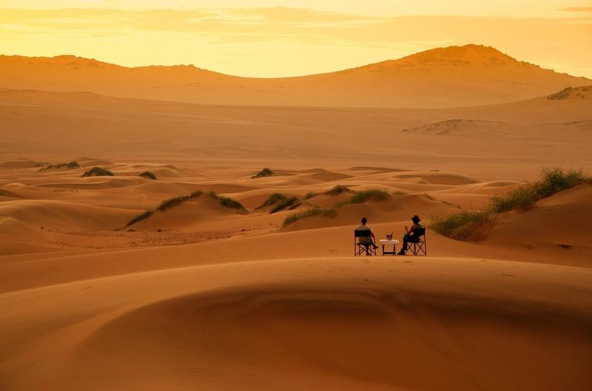 Namibie   serra cafema   dune   sunset slideshow