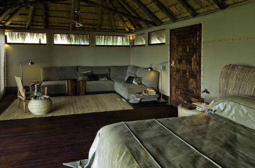 Namibie   serra cafema   chambre slideshow