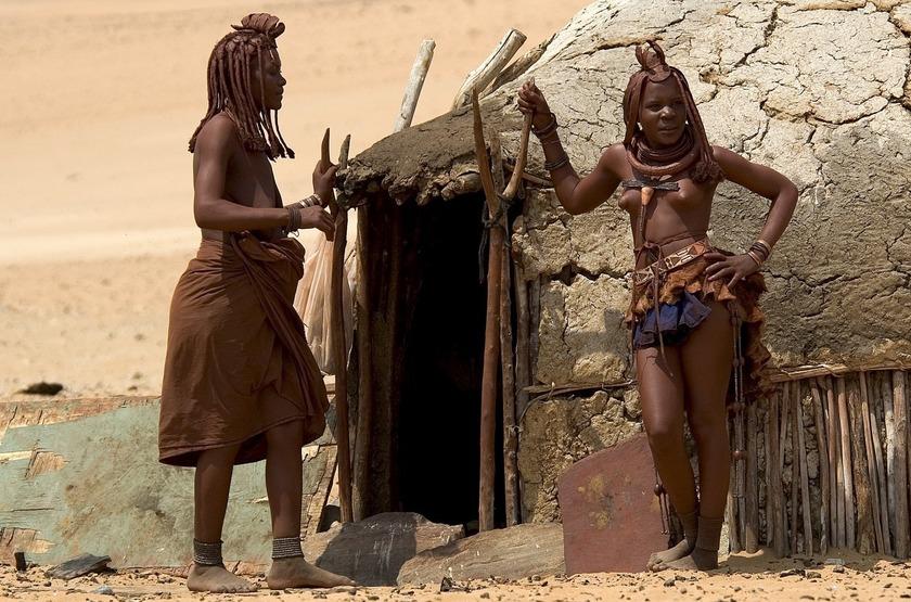 Namibie   serra cafema   himba slideshow