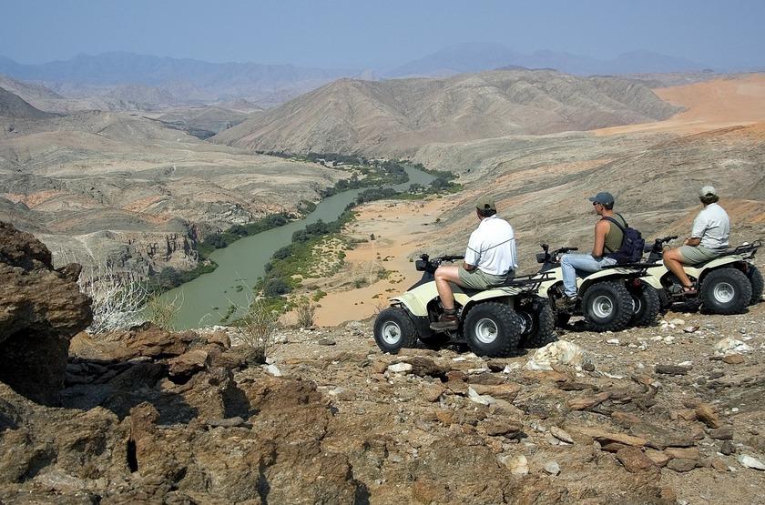 Namibie   quad   kaololand slideshow