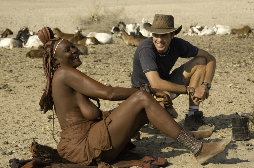 Namibie   serra cafema   peuple   himba slideshow