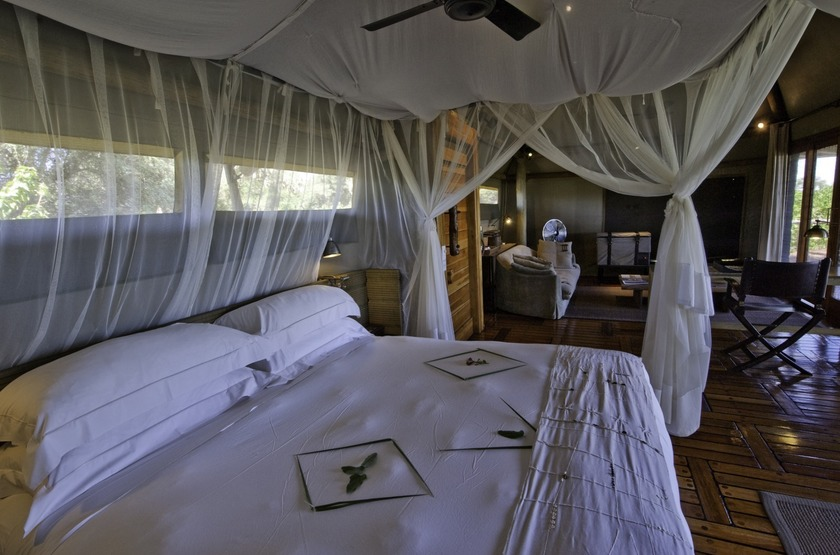Botswana   mombo camp   chambre slideshow