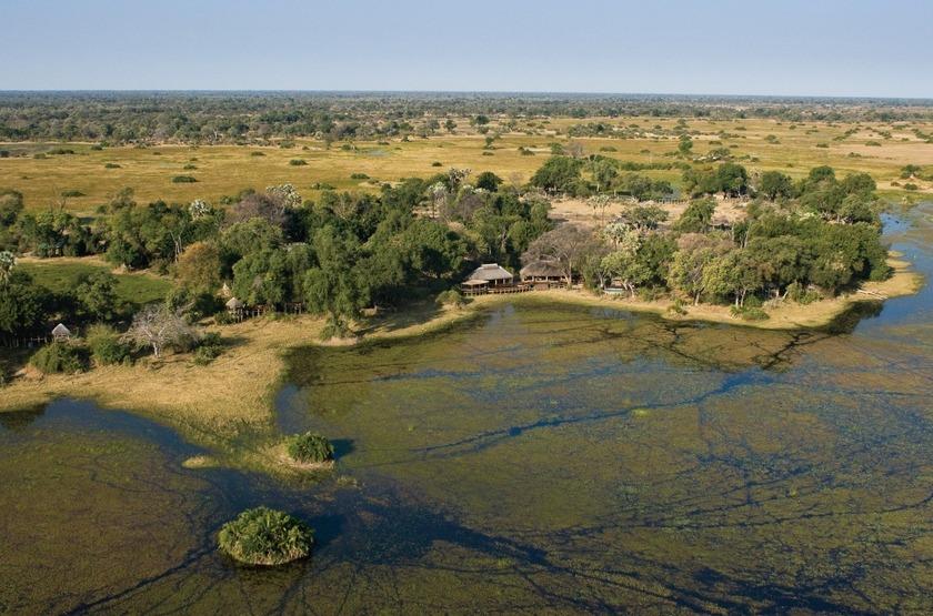 Mombo Camp, Moremi, Botswana, extérieur