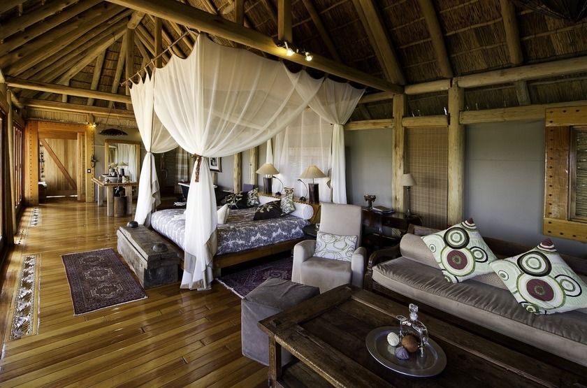 Botswana   jao camp   chambre slideshow