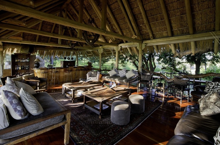 Jao Camp, concession de Jao, Botswana, main space
