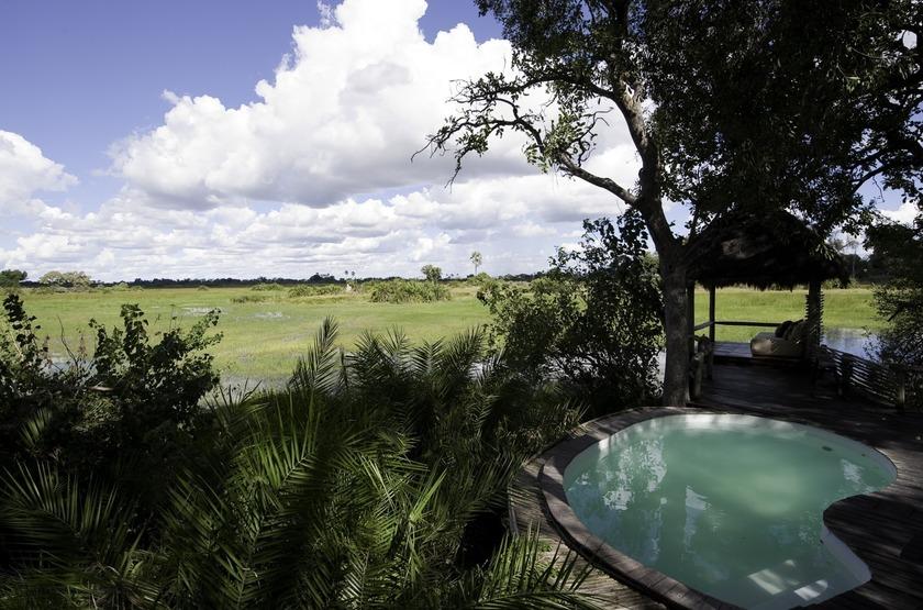 Little Mombo, Okavango, Botswana, piscine