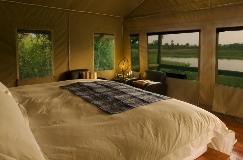 Seba Camp, Delta de l'Okavango, Botswana