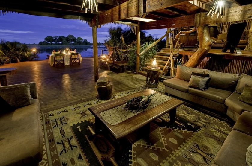 Botswana   jacana camp   lounge   okavango slideshow