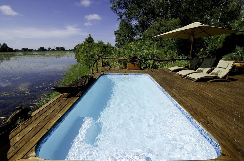 Botswana   jacana camp   piscine slideshow