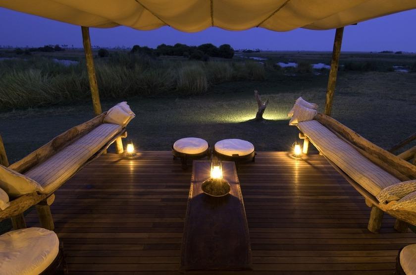 Selinda Camp, Linyanti, Botswana, salon