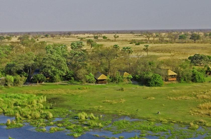 Selinda Camp, Linyanti, Botswana, extérieur