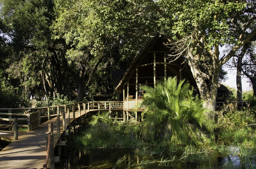 Xigera Camp Wilderness, delta de l'Okavango, Botswana