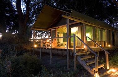 Botswana   duba plains   tente listing
