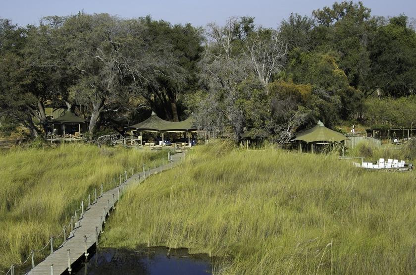 Little Vumbura, Okavango, Botswana, extérieur