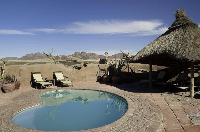 Kulala Desert Lodge, Sossuvlei, Namibie, piscine