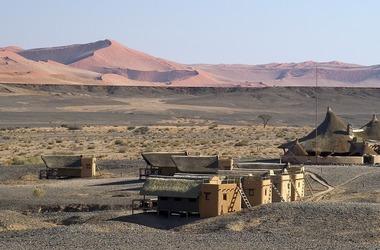 Namibie   kulala desert   sossusvlei listing