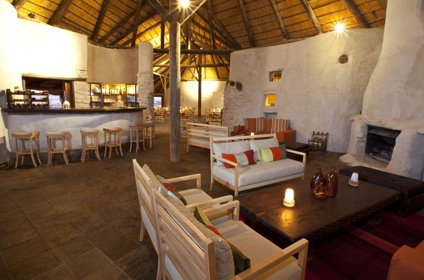 Kulala Desert Lodge, Sossuvlei, Namibie, salon