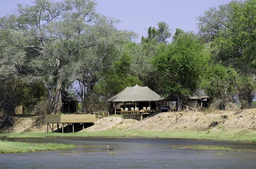 Ruckomechi Camp, Mana Pools, Zimbabwe, emplacement