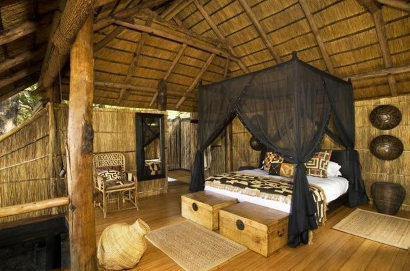 Chamilandu Camp, South Luangwa, Zambie, chambre