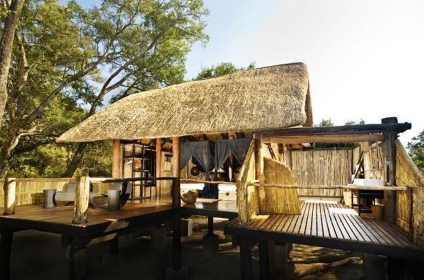 Chamilandu Camp, South Luangwa, Zambie, chalet