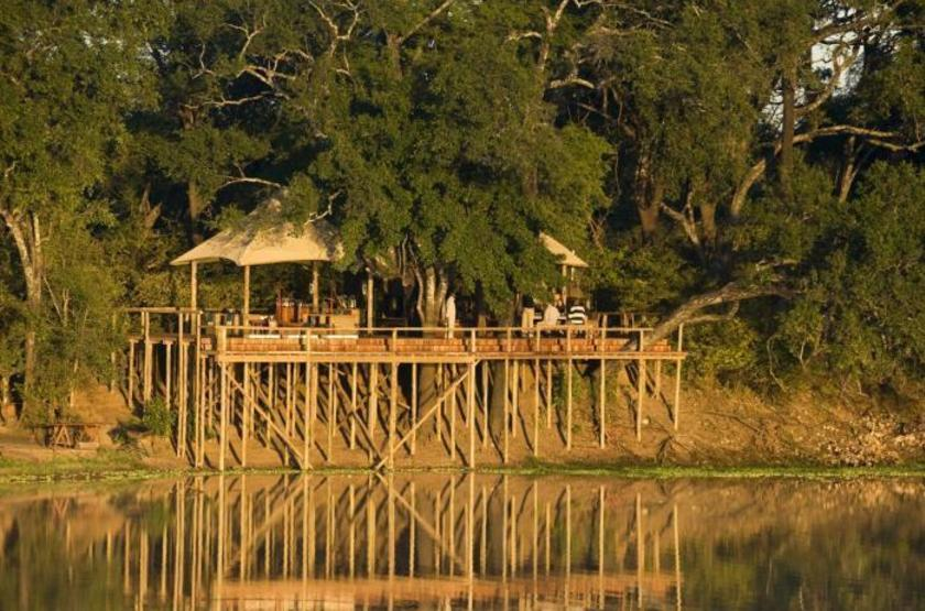 Chindeni Camp, South Luangwa, Zambie, point de vue
