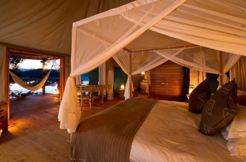 Chindeni Camp, South Luangwa, Zambie, chambre