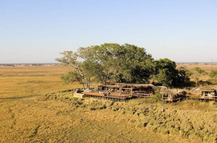 Shumba Camp, Parc de Kafue, Zambie, emplacement