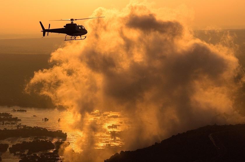 Zambie   toka leya   sunset   chutes victoria slideshow