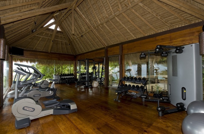 North Island Lodge, Seychelles, fitness