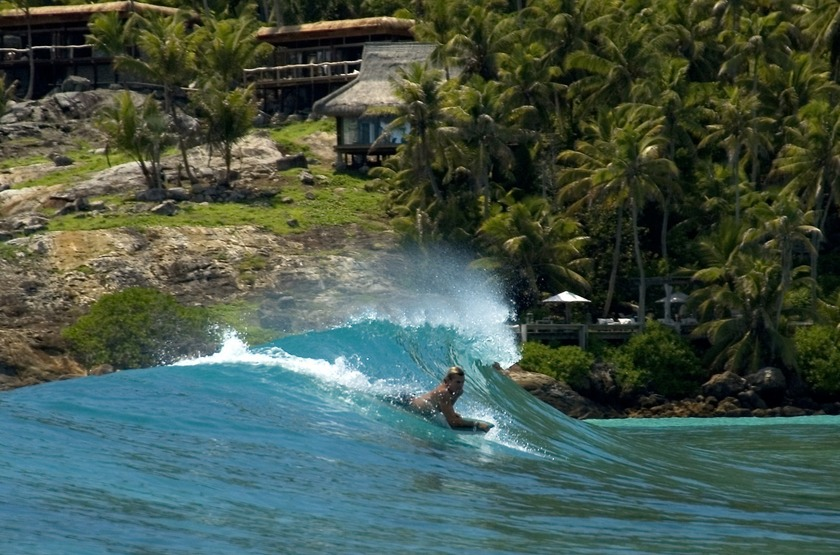 North Island Lodge, Seychelles, surf