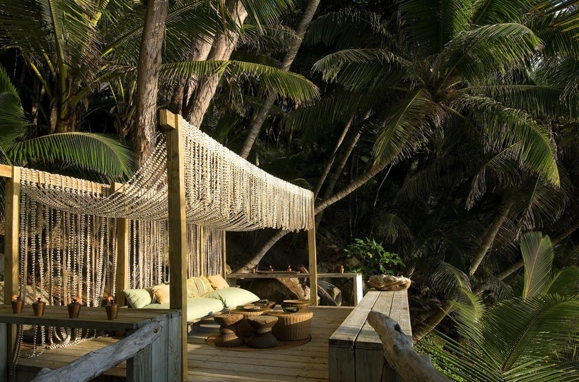 North Island Lodge, Seychelles, détente